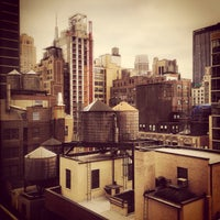 Photo taken at Fairfield Inn & Suites by Marriott New York Manhattan/Times Square by Doug B. on 12/14/2014