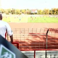 Photo taken at Südstadion by Markus T. on 10/20/2012