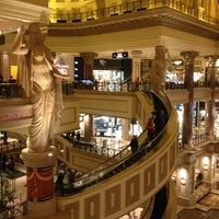 Photo taken at The Forum Shops at Caesars by innici on 12/3/2012