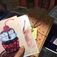 Снимок сделан в Podval Art Store пользователем Victoria P. 7/22/2015
