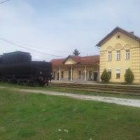 Photo taken at Железничка станица Прилеп / Prilep Train Station by Konstantin A. on 4/9/2013
