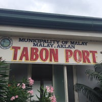 Photo taken at Tabon Port by Kath M. on 9/13/2014