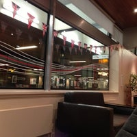 Photo taken at Virgin Trains First Class Lounge by Brian B. on 10/11/2012
