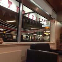 Photo taken at Virgin Trains First Class Lounge by Brian B. on 10/3/2012