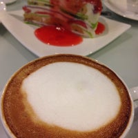 Photo taken at Montrio Cafe' by chaba R. on 1/26/2014