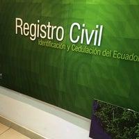 Photo taken at Registro Civil by Diego C. on 7/10/2014
