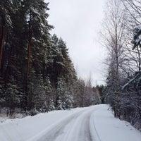 Photo taken at База Отдыха Заозёрное by Юльчик К. on 11/27/2013