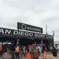 Photo taken at San Diego Surf Cup by Calvin J. on 8/2/2014