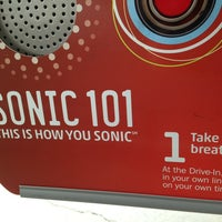 Photo taken at SONIC Drive In by Tony V. on 1/12/2013