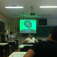 Photo taken at FAE Business School by Rogério R. on 11/20/2012
