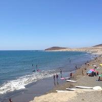 Photo taken at Playa Los Balos by Miles V. on 7/7/2013