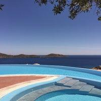 Photo taken at Elounda Gulf  Villas & Suites by Дима Андреич on 5/4/2015