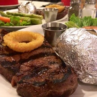 Photo taken at Town Pump Steakhouse by Michelle S. on 4/30/2014