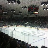 Photo taken at Thompson Arena at Dartmouth by Luke M. on 3/3/2013