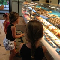 Photo taken at Dixie Cream Donuts by Jen⭐️ P. on 8/7/2013