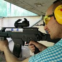 Photo taken at Shooting Range by Tudor I. on 8/11/2014