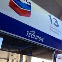 Photo taken at Chevron by Richard B. on 12/2/2013