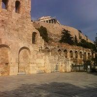 Photo taken at Herod Atticus Odeon by Alexandros G. on 11/4/2012