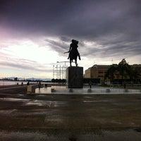 Photo taken at Άγαλμα Μεγάλου Αλεξάνδρου by Alexandros G. on 10/23/2014