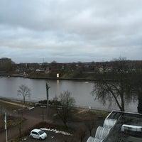 Photo taken at Kanal Rendsburg by Silvie S. on 2/9/2015
