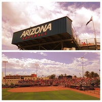 Photo taken at Rita Hillenbrand Memorial Stadium by Jonine W. on 5/5/2013