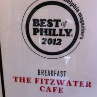 Photo taken at Fitzwater Cafe by Bruce S. on 10/21/2012