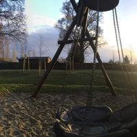 Photo taken at Spielplatz mit der Kurvenrutsche by Sebastian F. on 12/26/2016