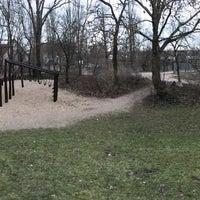 Photo taken at Spielplatz mit der Kurvenrutsche by Sebastian F. on 3/5/2016