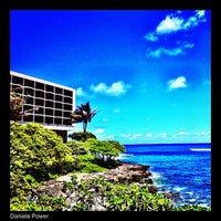 Photo taken at Turtle Bay Resort by Daniela A. on 7/4/2013