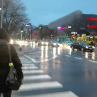 Photo taken at Plac Rodła by Aleksandra on 2/12/2016