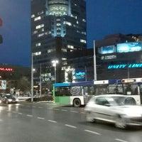 Photo taken at Plac Rodła by Aleksandra on 1/21/2016