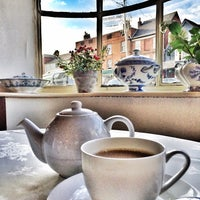 Photo taken at The Polly Tearooms by Fatosh G. on 11/10/2014