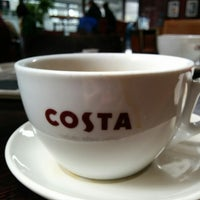 Photo taken at Costa Coffee by Alan B. on 5/12/2014