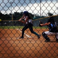 Photo taken at Krieg Field Softball Complex by Angelica S. on 6/15/2013