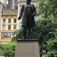 Photo taken at Statue of Roscoe Conkling by Mitchell R. on 6/13/2018