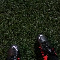 Photo taken at Olympic Park (Football Academy) by Georgios K. on 3/6/2014