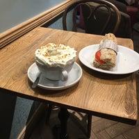 Photo taken at Green Caffè Nero by Valia K. on 10/9/2017