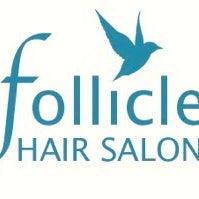 Photo taken at Follicle Salon by Follicle Salon on 11/28/2013