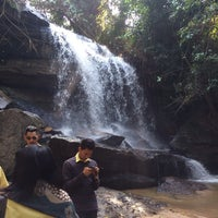 Photo taken at Sumrongkiat Waterfall by Ople H. on 12/2/2013