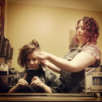 Photo taken at Curve Hair Studio by Sherrie R. on 8/10/2013