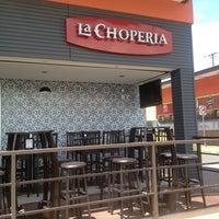 Photo taken at La Choperia by minkrn on 4/10/2013