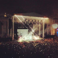 Photo taken at William Randolph Hearst Greek Theatre by Eric A. on 6/2/2013