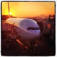 Photo taken at HND Terminal 1 by Hibiki K. on 1/29/2013