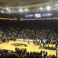 Photo taken at Carver-Hawkeye Arena by Eric H. on 3/6/2013