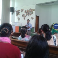 Photo taken at Igreja Presbiteriana Independente de Parque Brasil by Jafe L. on 11/2/2014