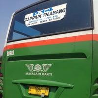 Photo taken at Terminal Bus Tanjung Priok by ardhy m. on 11/12/2014