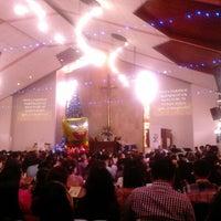 Photo taken at HKBP Bandung Ressort Bandung Riau Martadinata by Valent S. on 12/25/2013