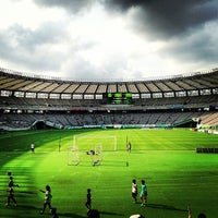 Photo taken at Ajinomoto Stadium by まんのじ on 7/27/2013