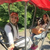Photo taken at Kleinbahn / Parkbahn by Merve D. on 7/26/2015