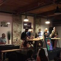 Photo taken at Impact Hub Philly by Kade H. on 10/14/2015